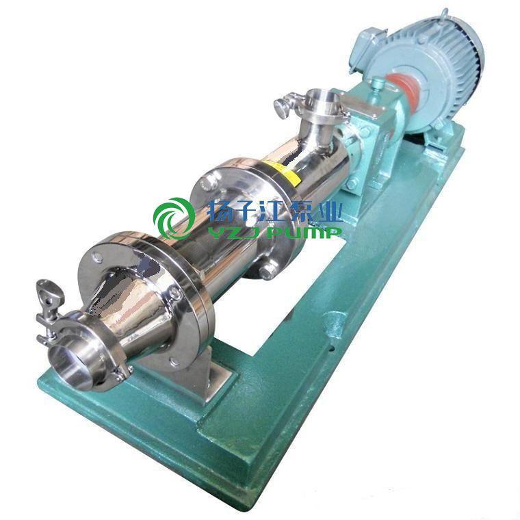 GF型不锈钢食品卫生级单螺杆泵