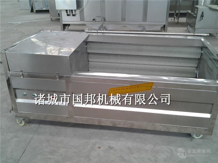 国邦供应根茎类毛刷清洗机型号