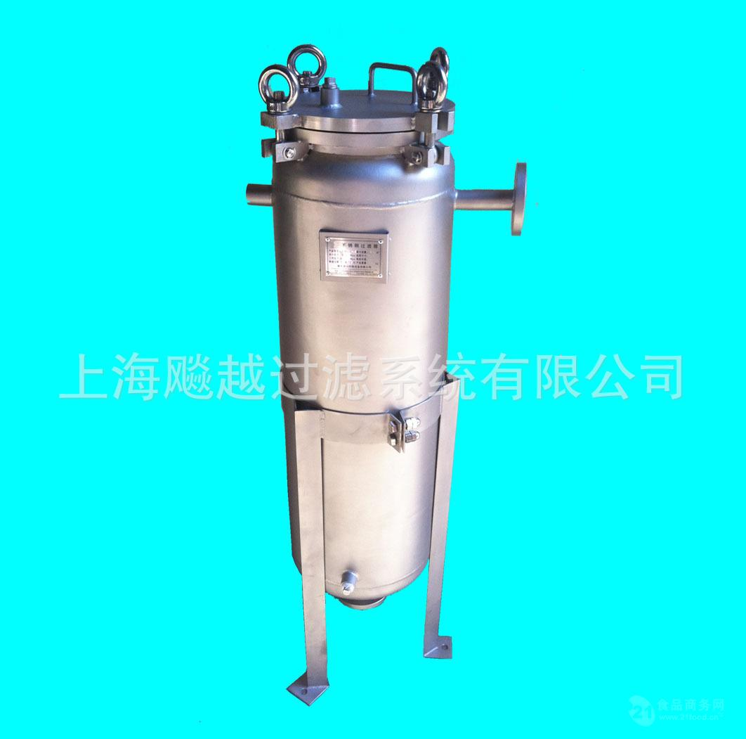 厂家直销保温过滤器 不锈钢保温袋式过滤器
