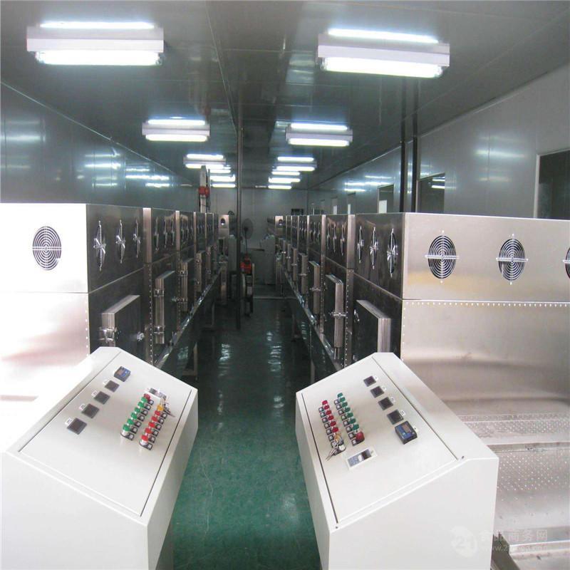 杂粮熟化用的什么机器  五谷杂粮微波熟化设备