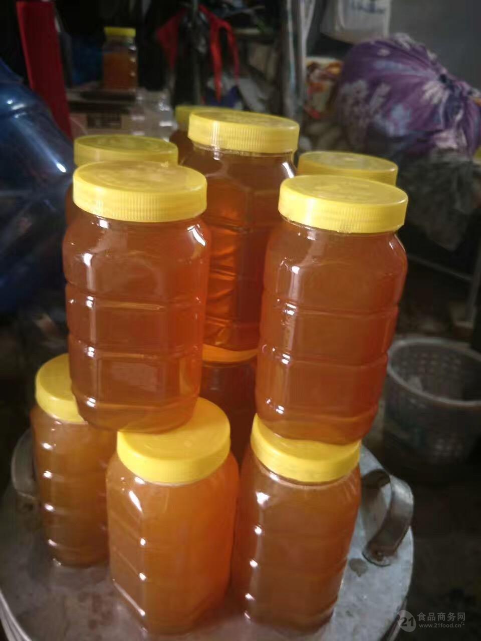 新疆纯天然红枣蜂蜜