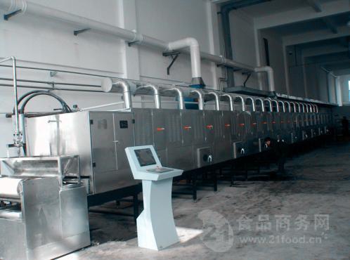 隧道式茴香微波干燥设备