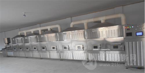 隧道式桂皮微波干燥设备