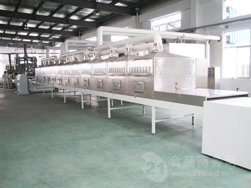 隧道式大麦茶微波干燥设备