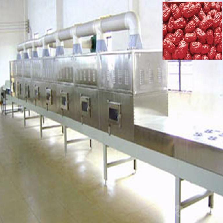 济南厂家大枣干燥杀菌微波设备