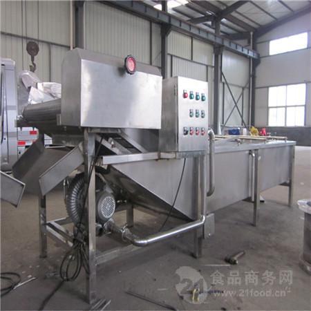 辣椒气泡清洗机 不锈钢材质不易生锈