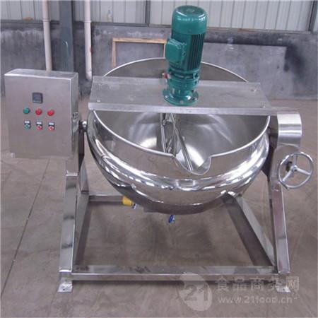 诸城电加热夹层锅 400L煮肉锅
