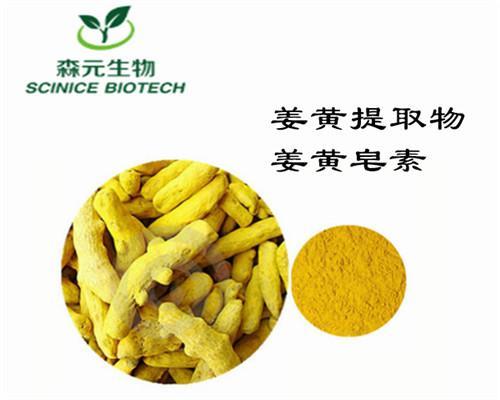 姜黄皂素 95% 食品级 姜黄素 优质姜黄提取物 着色剂 防腐剂