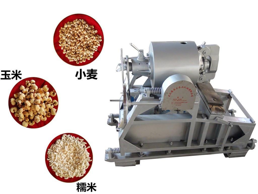 大型流膨化机_大型粮食气流膨化机