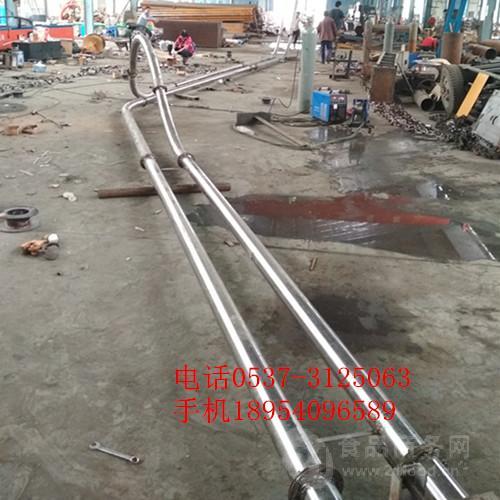 测量定做 不锈钢管链机型号 密封式管链输送机 徐