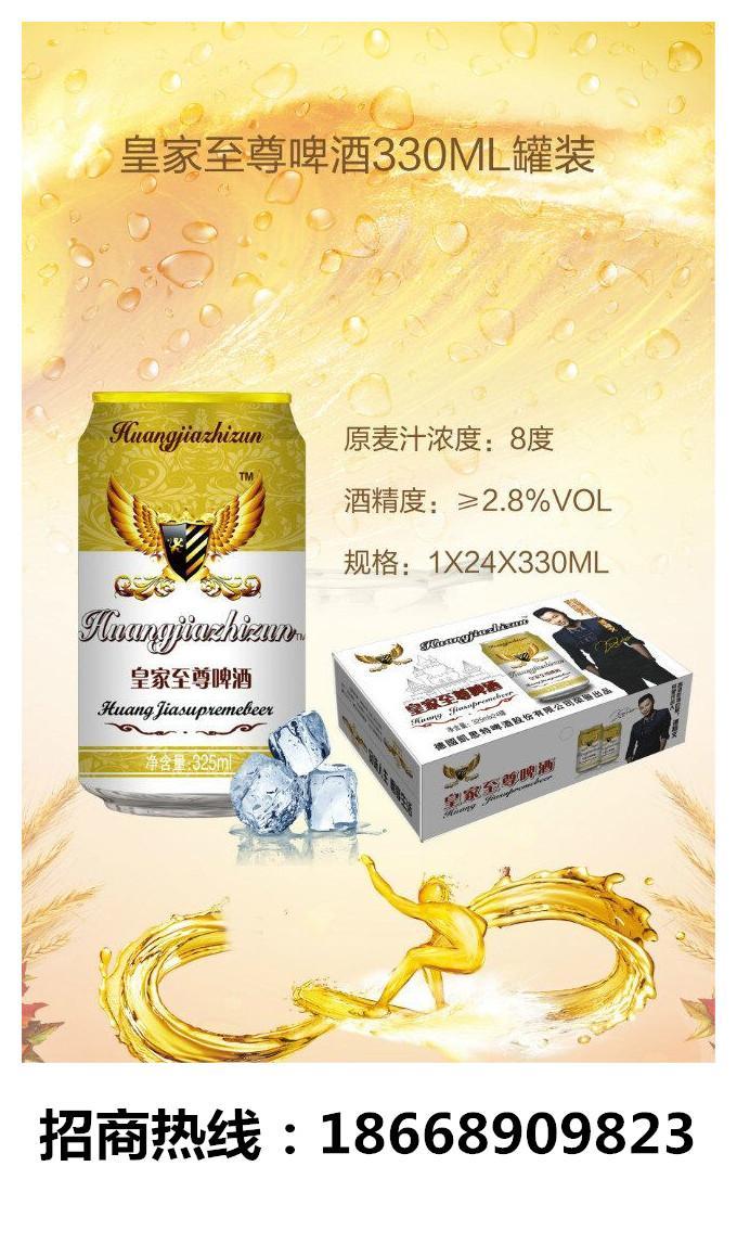 易拉罐啤酒*325毫升24听易拉罐啤酒供货价格