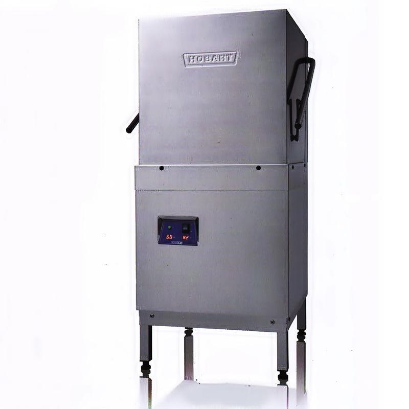 HOBART提拉式洗碗机E60 霍巴特/豪霸揭盖式洗碗机