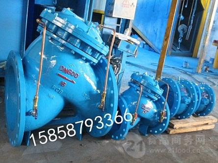 永嘉jd745x-10q水泵控制阀球铁多功能水泵控制器批发正品精选图片