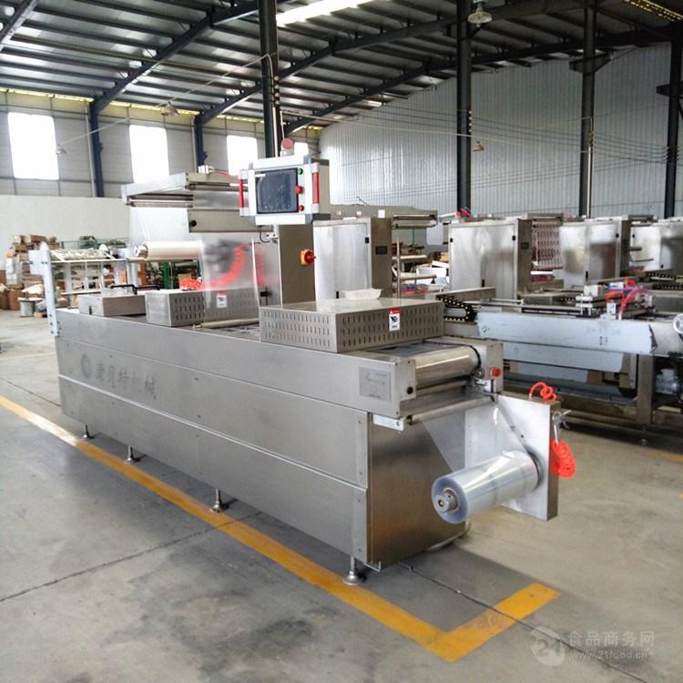 康贝特牌拉伸膜自动包装机 食品拉伸真空包装机厂家