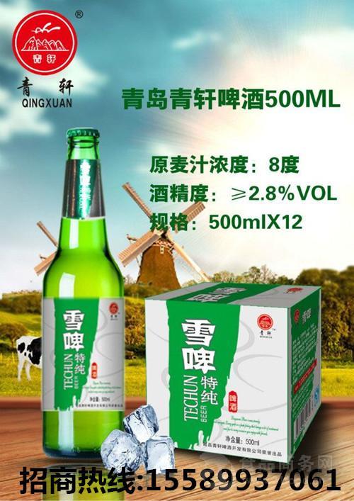 湖南地区啤酒厂家春季大瓶啤酒低价代理