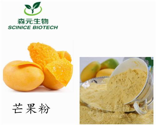 厂家直供 天然果蔬粉 有机芒果粉  芒果汁粉 营养代餐粉