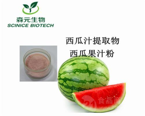 工厂{主推产品}西瓜提取物 西瓜汁提取物 西瓜汁粉 优质原料