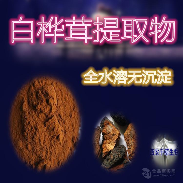 白桦茸提取物 优质原料萃取 厂家生产天然提取物定做浓缩流浸膏