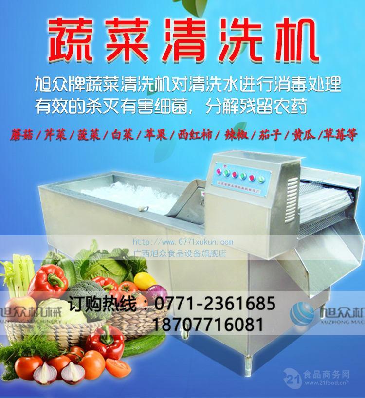 广西蔬菜清洗机,大型洗菜机