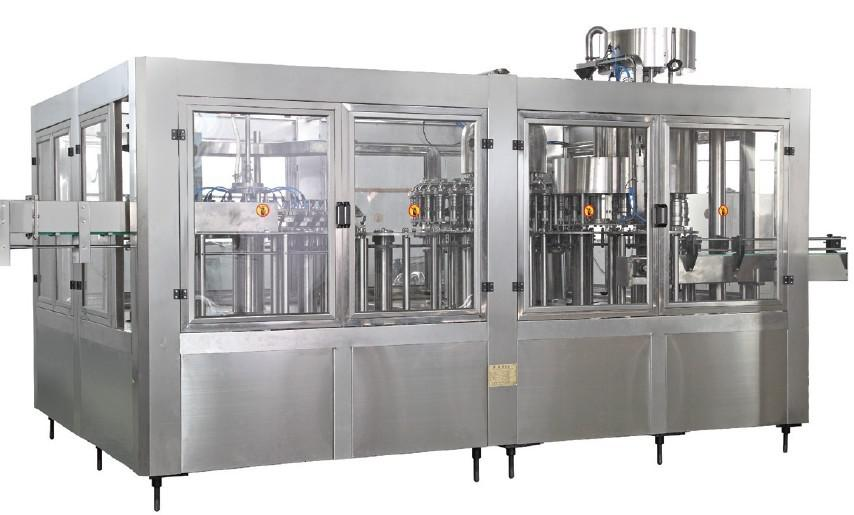玻璃瓶果汁灌装机