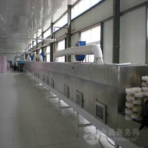 无捻粗纱织物微波干燥设备