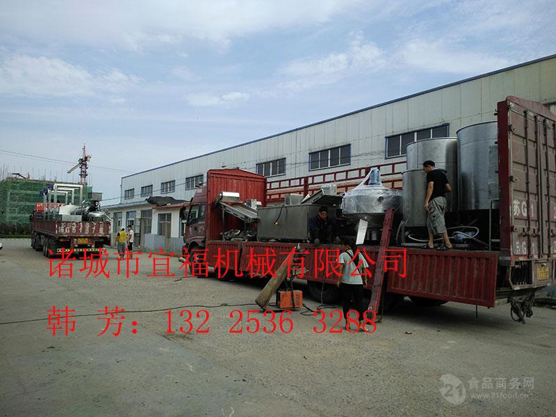 食品油炸机厂家直销江米条全自动油炸生产线