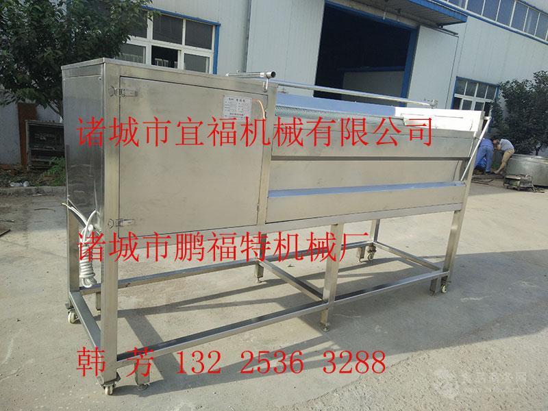 蔬菜清洗机厂家推荐毛刷清洗机