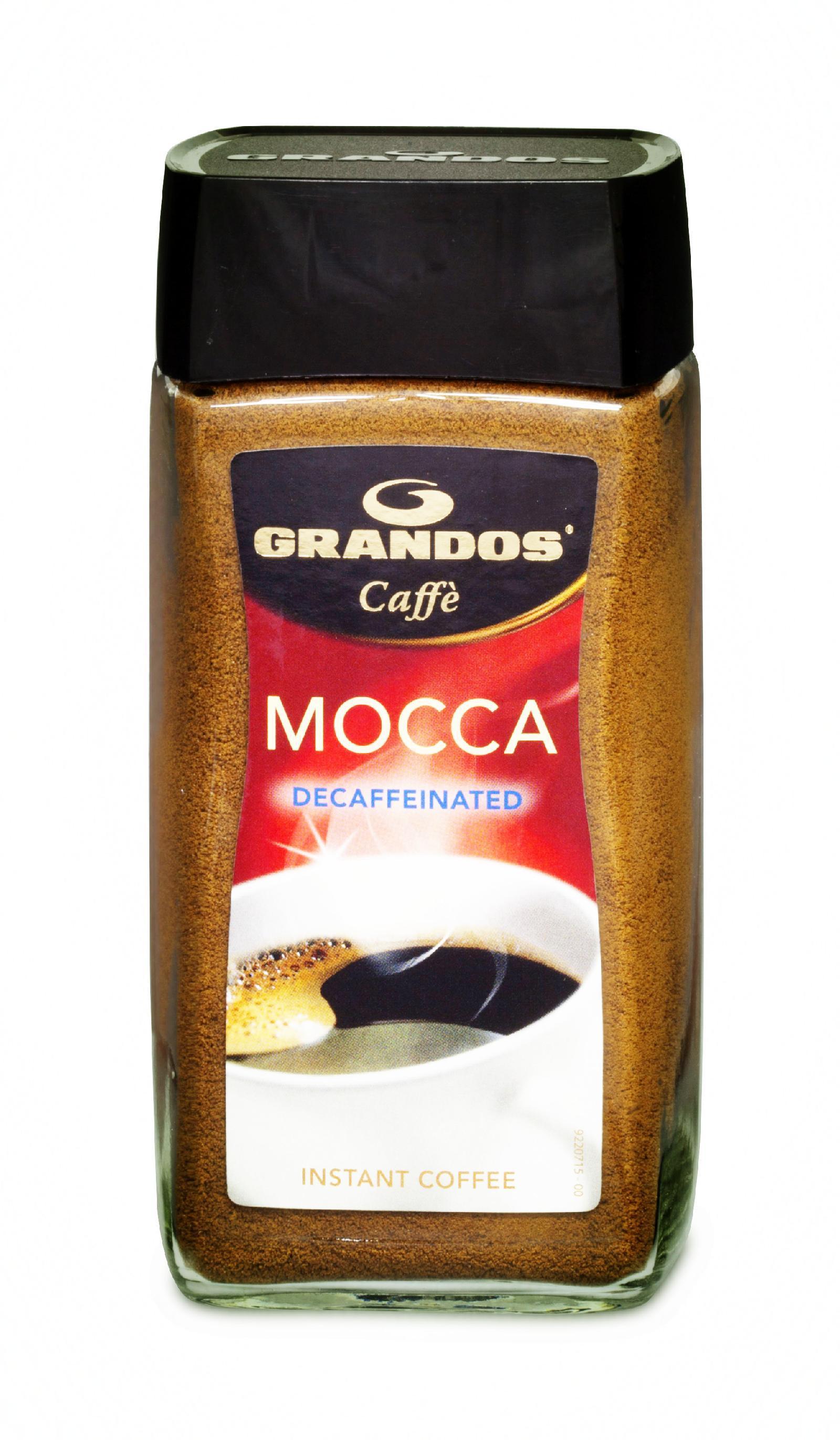 格兰特摩卡黑咖啡(脱咖啡因)