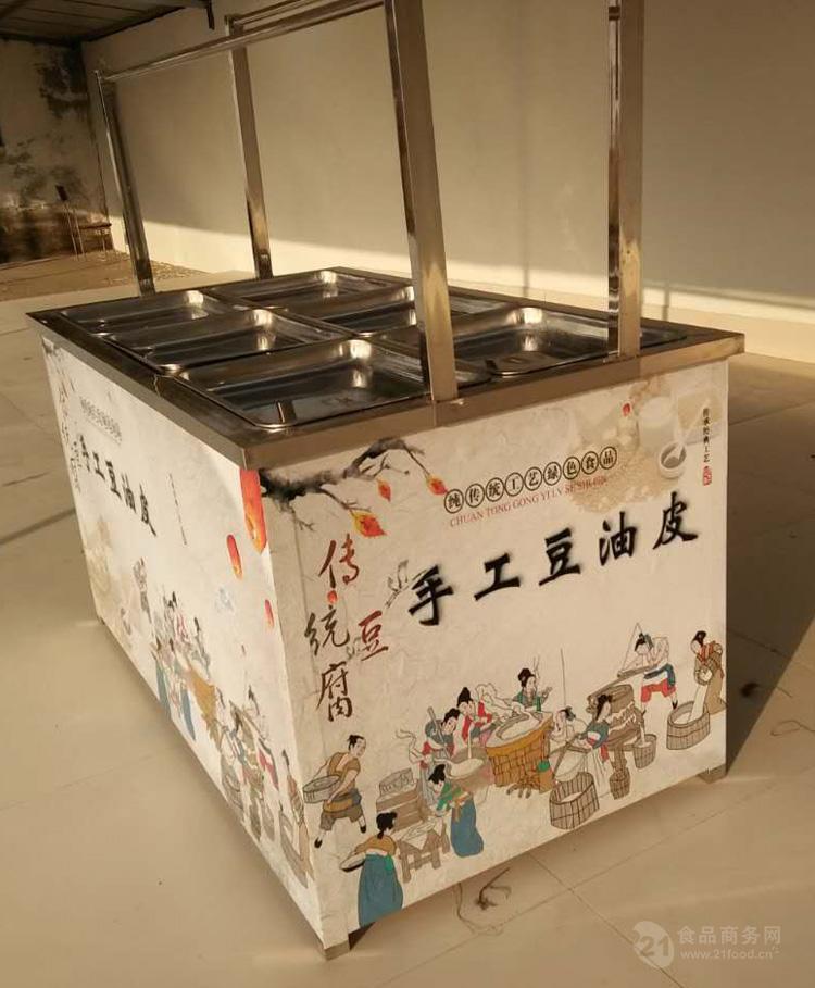 腐竹机厂家 不锈钢腐竹油皮机 全自动商用磨浆机 豆制品机械设备