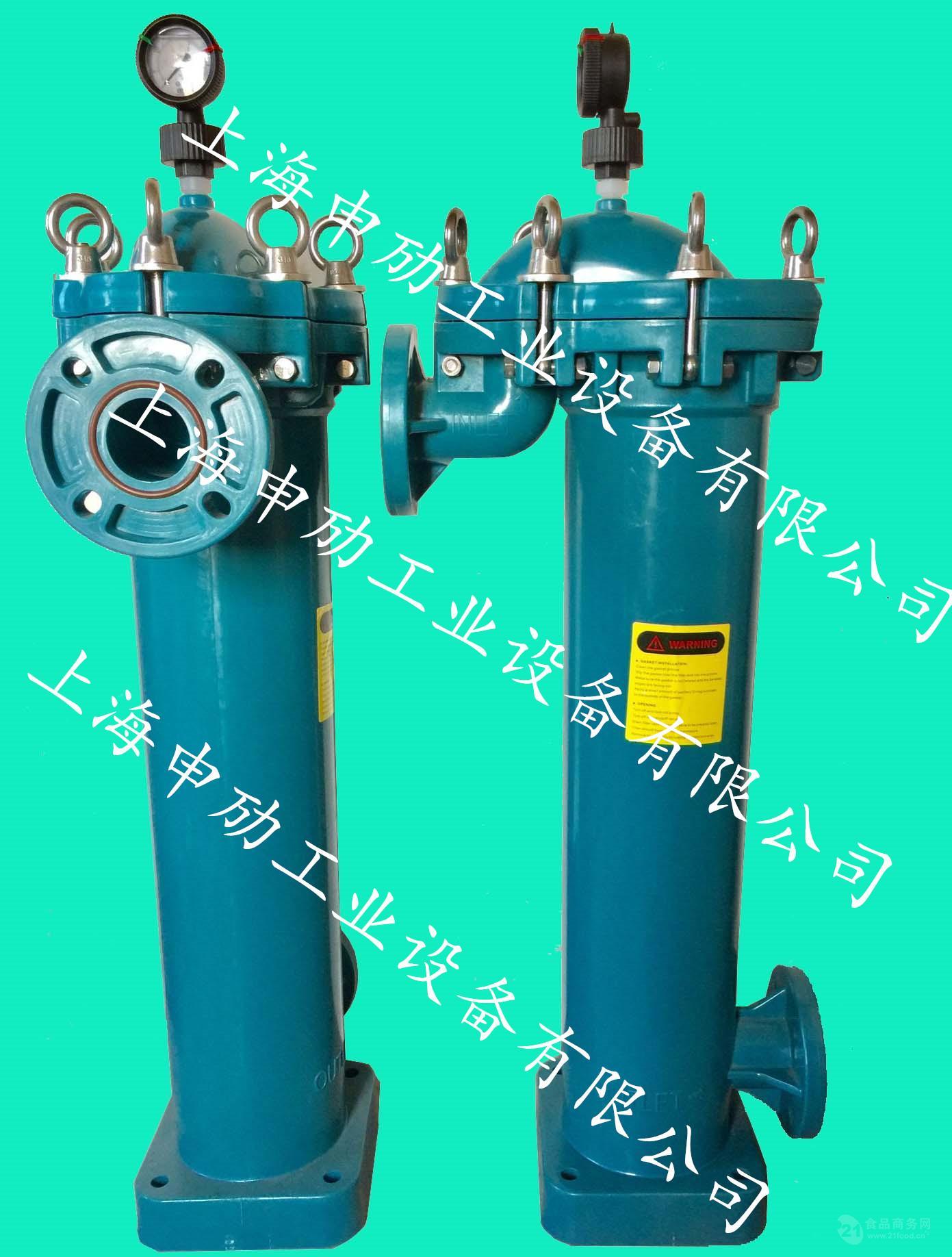 顶入式过滤器 PPH/PVDF塑胶袋式过滤器