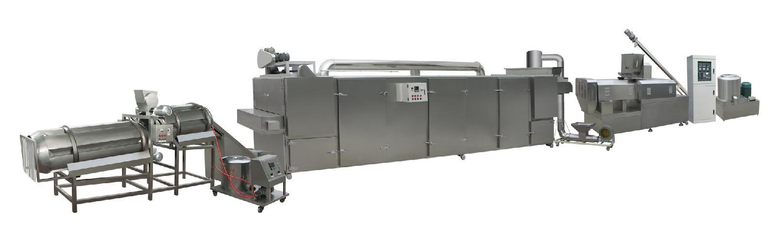 狗粮设备选择济南鑫贝发XBF-95膨化饲料生产线
