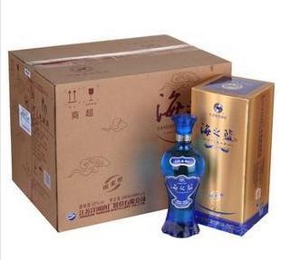 洋河【海之蓝】52度代理商、洋河上海专卖、批发