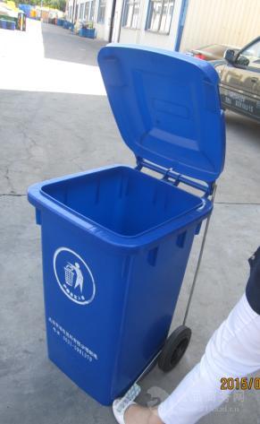 河南塑料垃圾桶-脚踏式垃圾桶-翻盖式垃圾桶