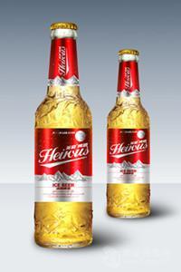 英豪啤酒500毫升红标瓶