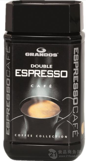 格兰特双倍特浓100克速溶咖啡