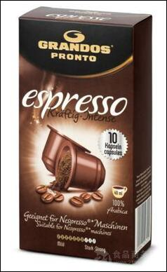 格兰特Espresso 胶囊装意式咖啡粉