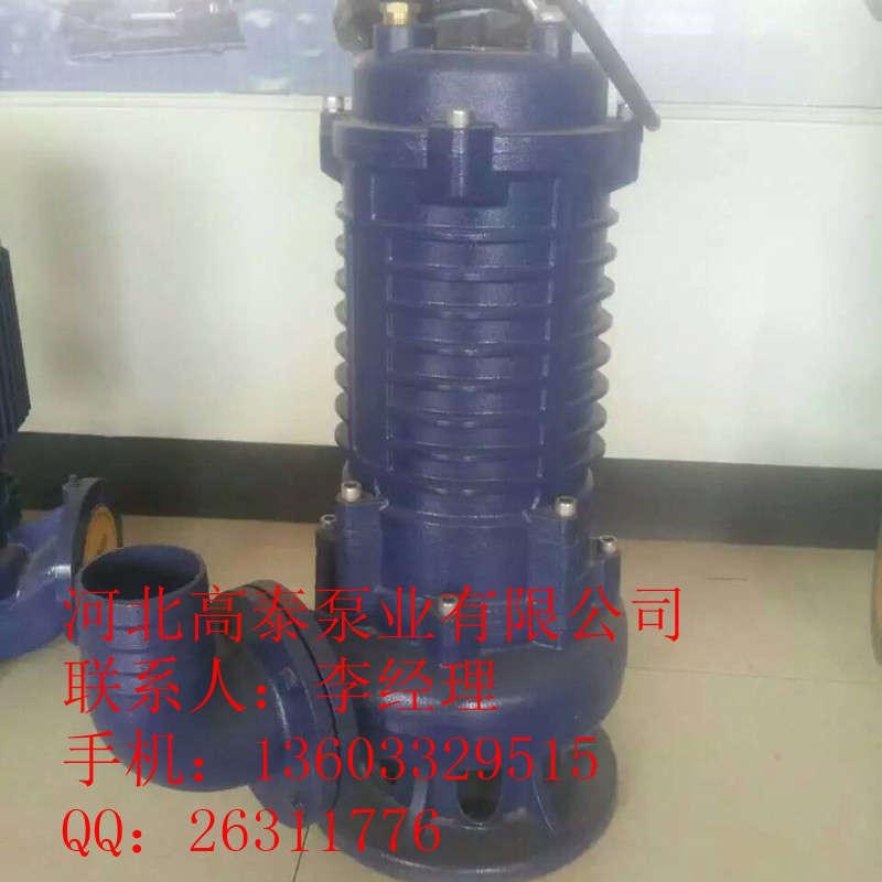 无堵塞潜水泵 200WQ300-7-11潜水排污泵