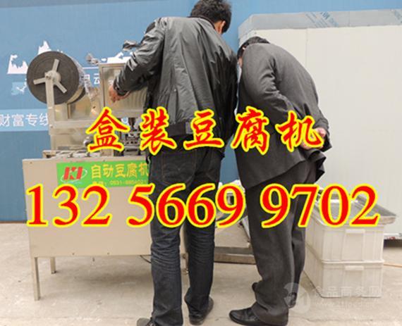 自动封盒自动灌装内脂豆腐机生产线价格