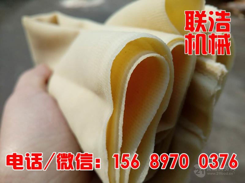 超薄自动干豆腐机 全自动干豆腐机械