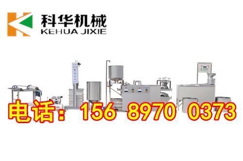 宝鸡专业全自动豆腐皮机生产厂家 千张百叶机器