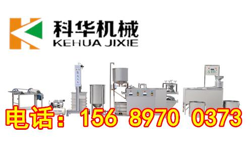 菏澤小型豆腐皮機廠家直銷,自動化生産
