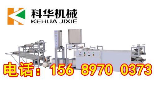 江蘇自動豆腐皮機廠家、豆腐皮機1-2人即可生産,小型豆腐皮機