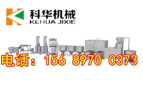 全自动仿手工豆腐皮机械化生产
