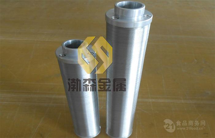 脱硫系统中贫富胺液过滤器楔形丝滤芯