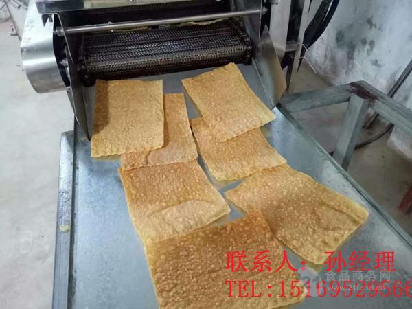 煎饼果子薄脆油炸机尚品油炸设备专业厂家