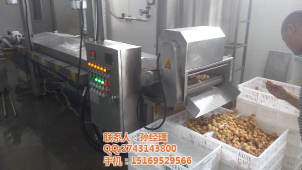 sp-3500鱼豆腐全自动油炸机厂家火爆促销