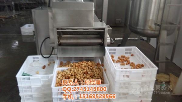 sp-3500全自动炸鱼豆腐油炸机器厂家直销