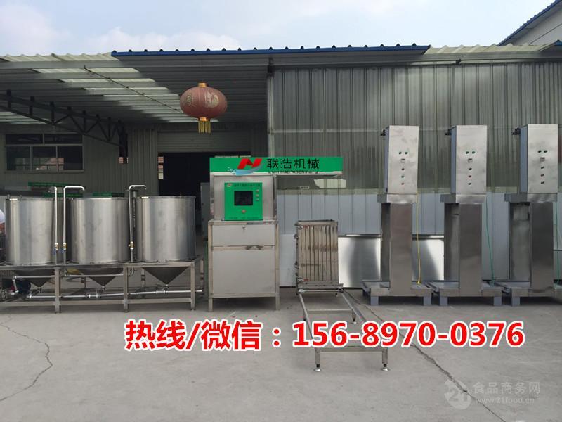 大型豆腐皮机设备生产线,豆干机器(数控豆腐干香干机械设备)