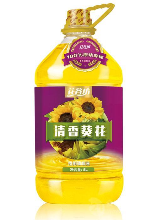 花谷坊清香葵花调和油