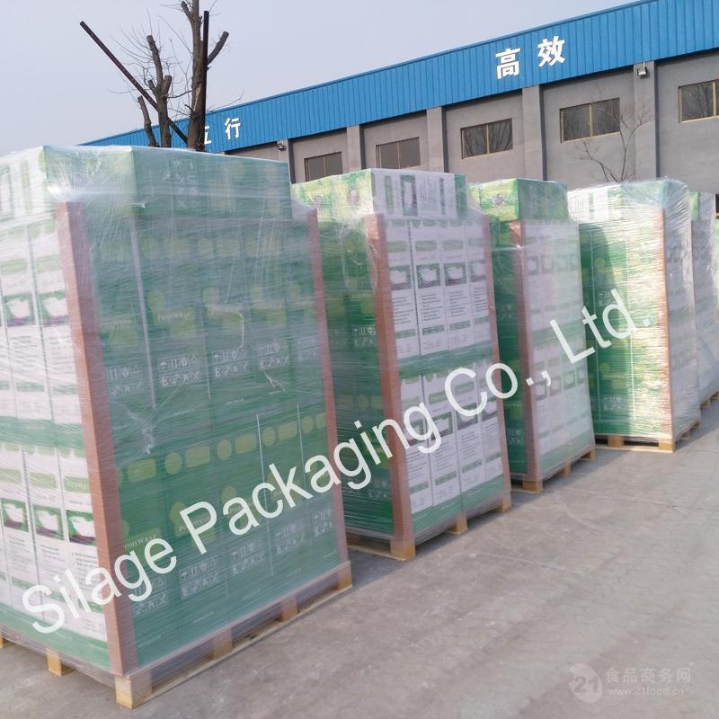 出口匈牙利 高标准牧草膜 打包机专用膜 进口生产线 厂家直供